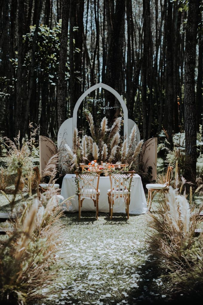The Wedding of Nysha and Fariz by Elior Design - 030