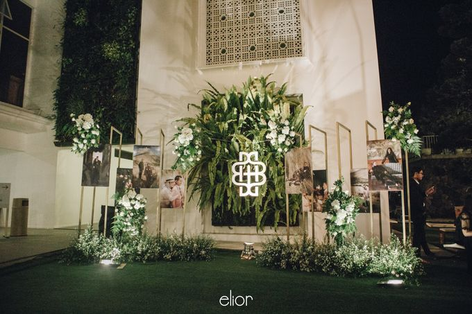 The Wedding of Bela and Didi by Elior Design - 005