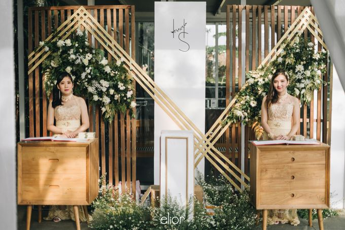 The Wedding of Henry and Stefanie by Elior Design - 008