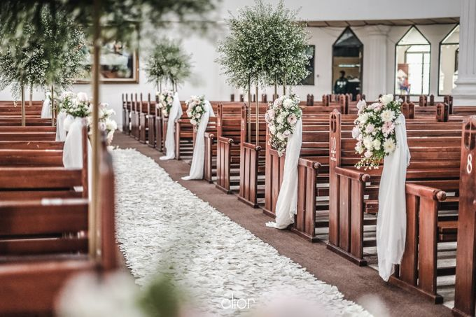 The Wedding of Victor and Rachel by Elior Design - 006