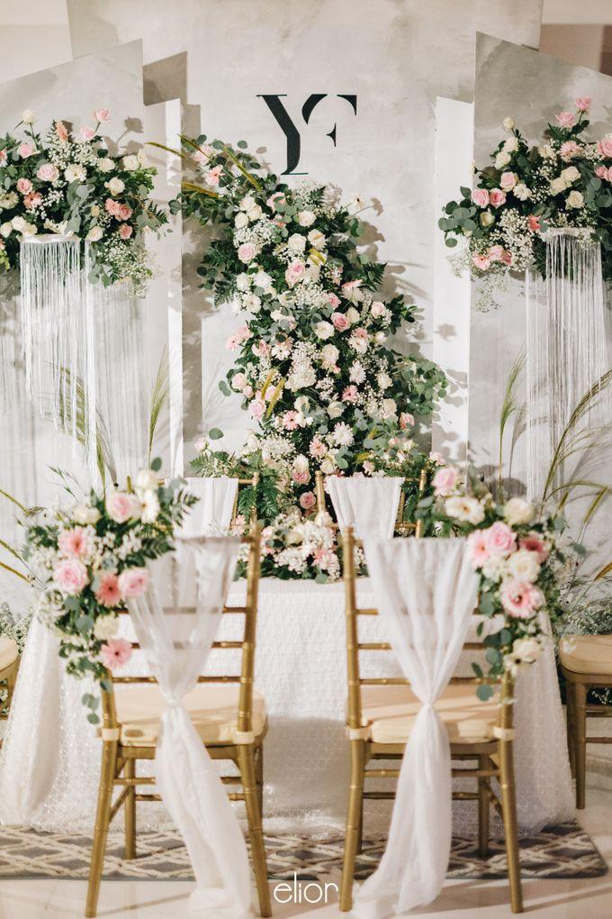 The Wedding of Yumiko and Faiz by Elior Design - 001