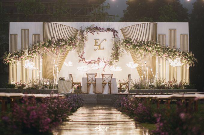 The Wedding of Eriely Lukman by Elior Design - 007