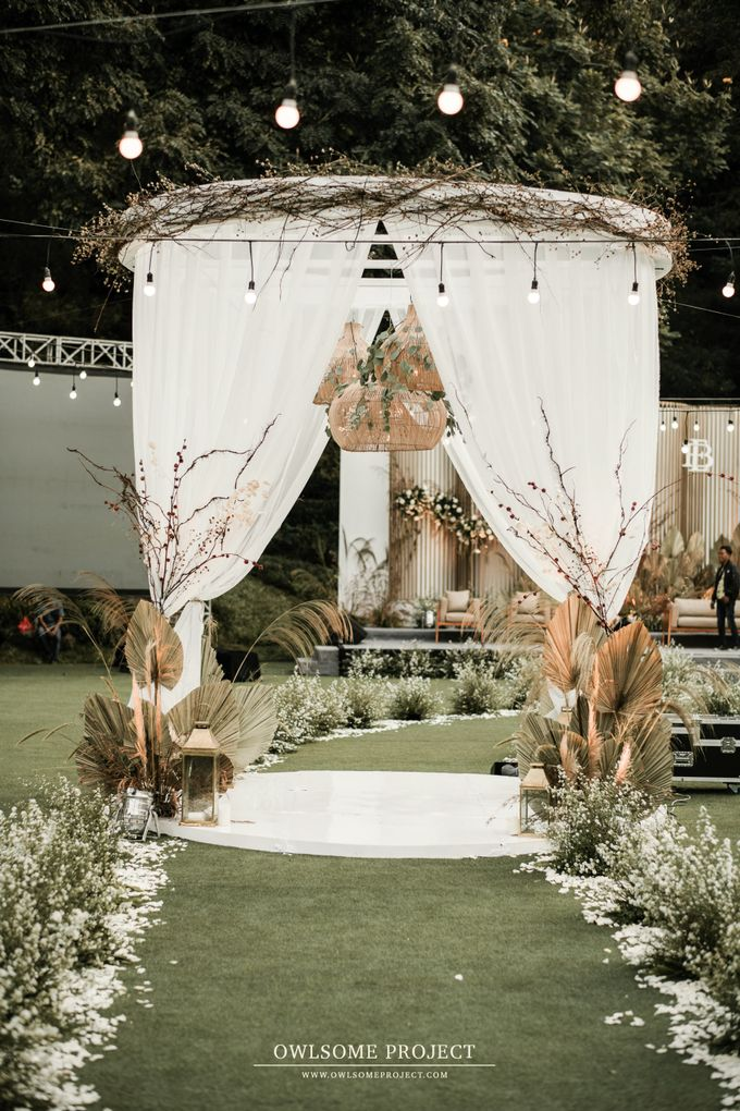 The Wedding of Budiman and Eunike by Elior Design - 019