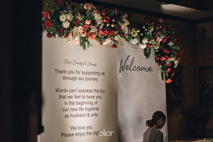 The Wedding of Gian & Angel by Elior Design - 017