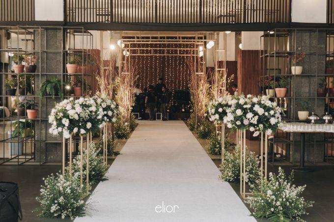 The Wedding of Novilia & Didik by Elior Design - 009
