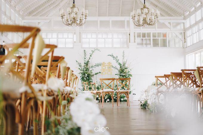 The Wedding Of David & Felicia by Elior Design - 007
