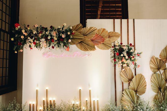 The Wedding of Fira & Jordan by Elior Design - 024