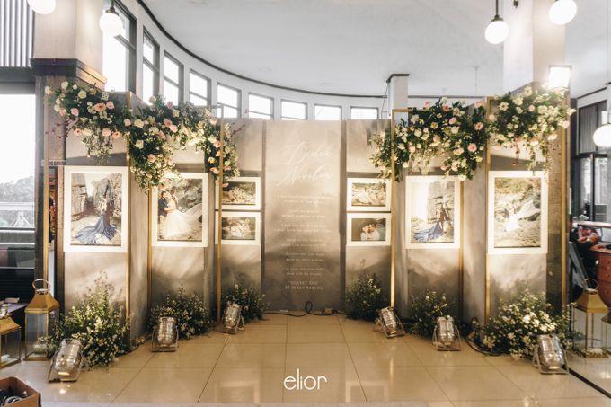 The Wedding of Novilia & Didik by Elior Design - 010