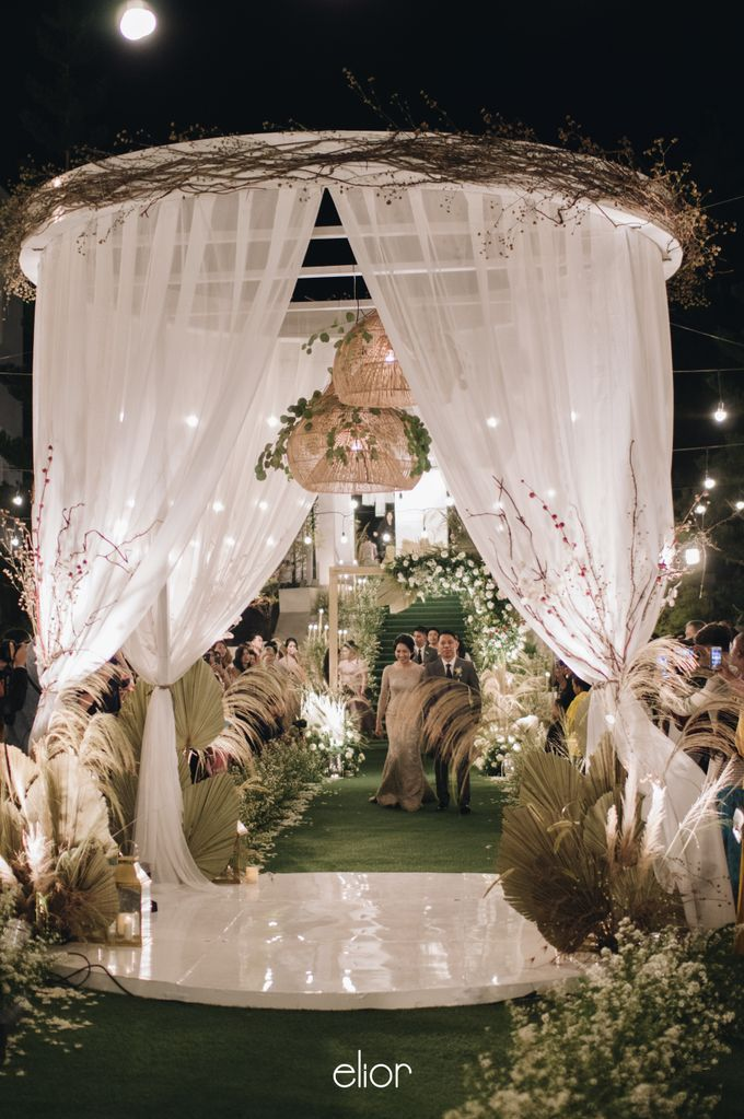 The Wedding of Budiman and Eunike by Elior Design - 020