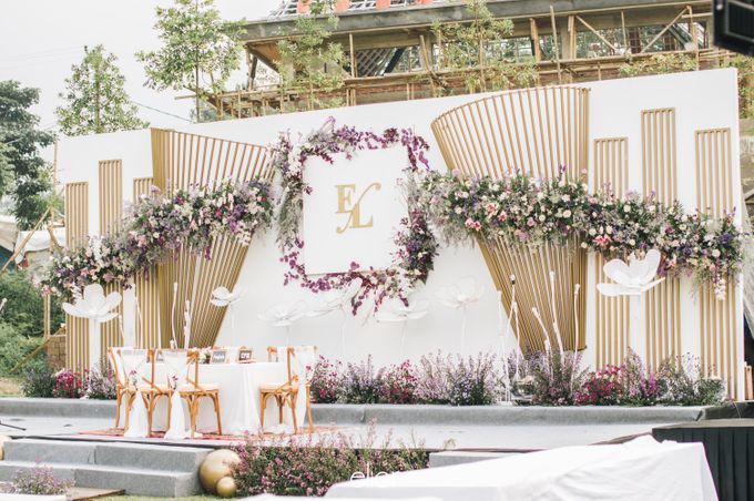 The Wedding of Eriely Lukman by Elior Design - 008