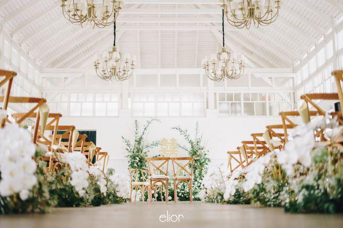 The Wedding Of David & Felicia by Elior Design - 008