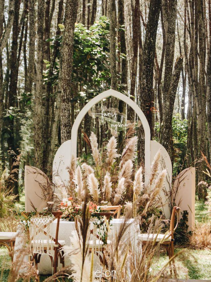 The Wedding of Nysha and Fariz by Elior Design - 031
