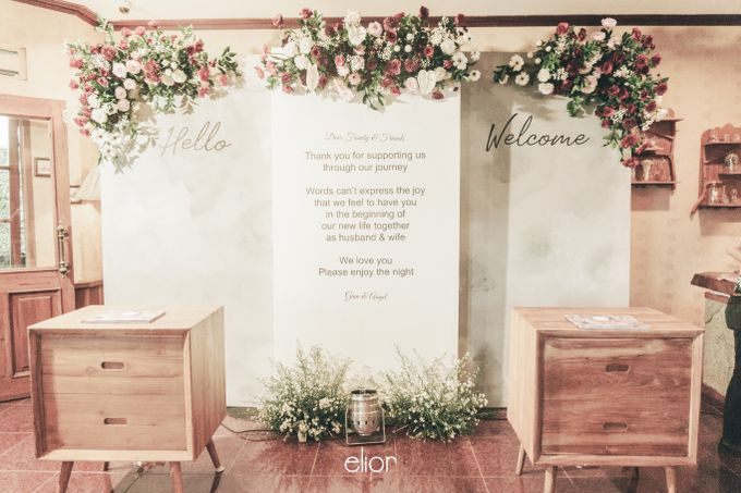 The Wedding of Gian & Angel by Elior Design - 018