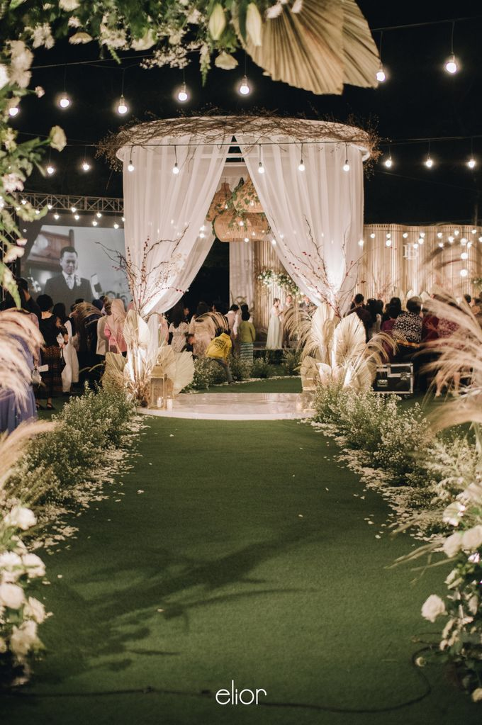 The Wedding of Budiman and Eunike by Elior Design - 021