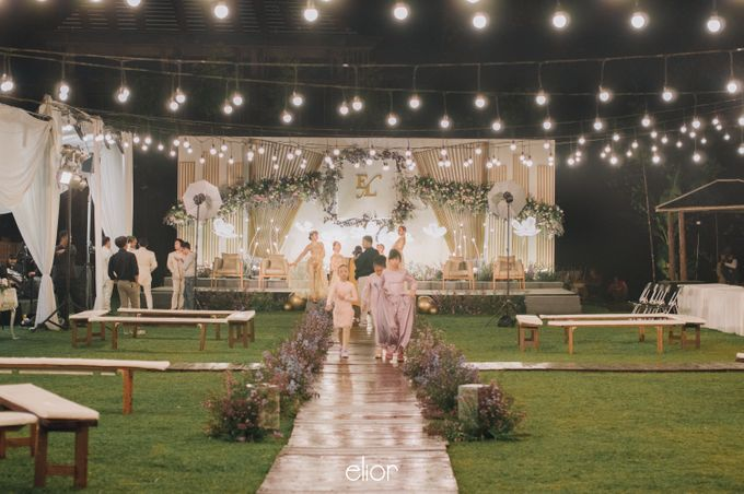 The Wedding of Eriely Lukman by Elior Design - 009