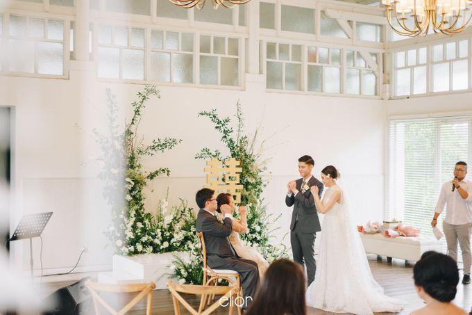 The Wedding Of David & Felicia by Elior Design - 010