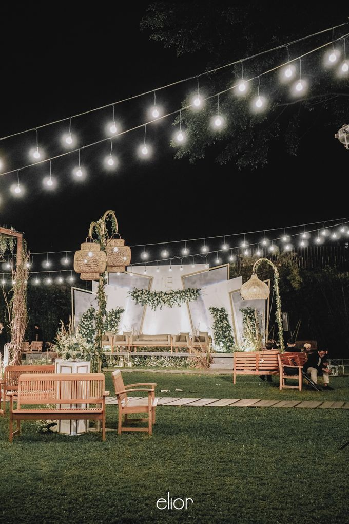 The Wedding of Nico & Evelyn by Elior Design - 010