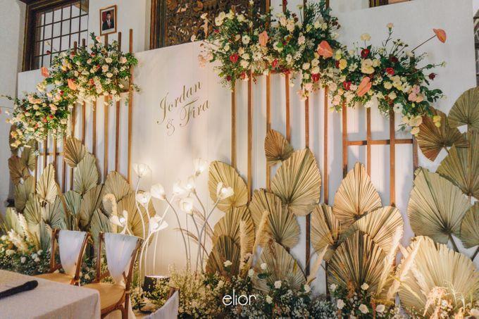 The Wedding of Fira & Jordan by Elior Design - 027