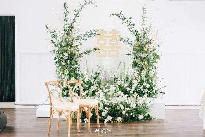 The Wedding Of David & Felicia by Elior Design - 011