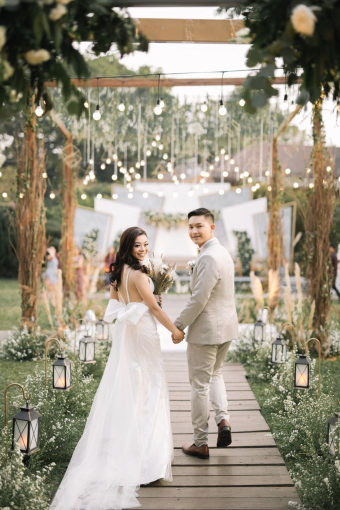 The Wedding of Nico & Evelyn by Elior Design - 011