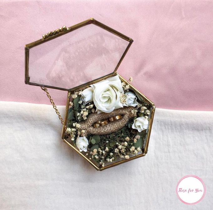 Ring Box by Rose For You - 006