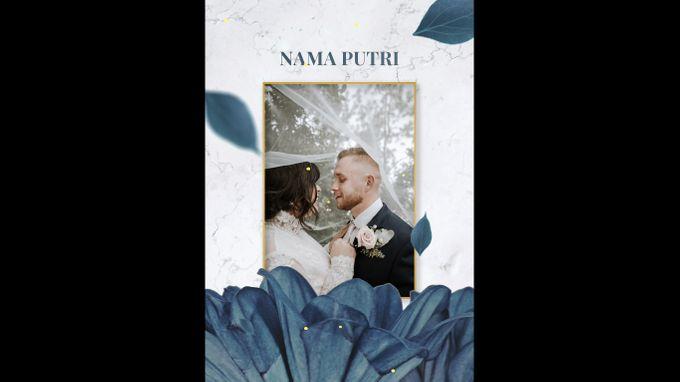Undangan digital video pernikahan invitation 0203 by ADSA INVITATION - 006