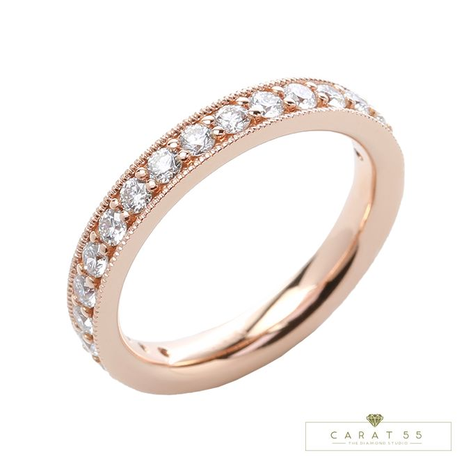 Eternity Wedding Rings by Carat 55 - 002