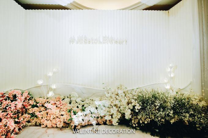 Glenn & Jesslyn Wedding Decoration by Valentine Wedding Decoration - 006