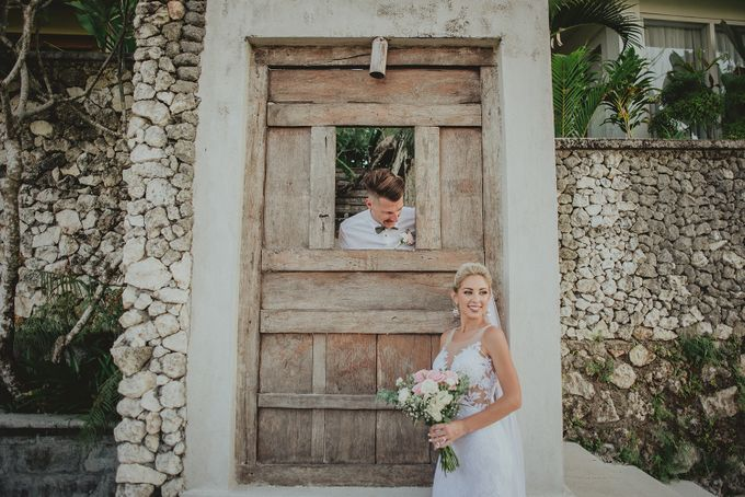 Trav & Mel Wedding by KAMAYA BALI - 005