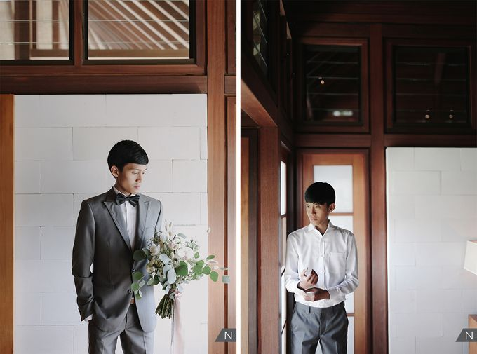 Billy & Rachel Wedding by Wong Hang Distinguished Tailor - 006