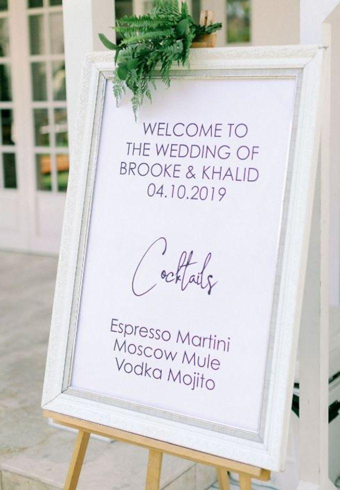 Brooke & Khalid Wedding by Bali Brides Wedding Planner - 006