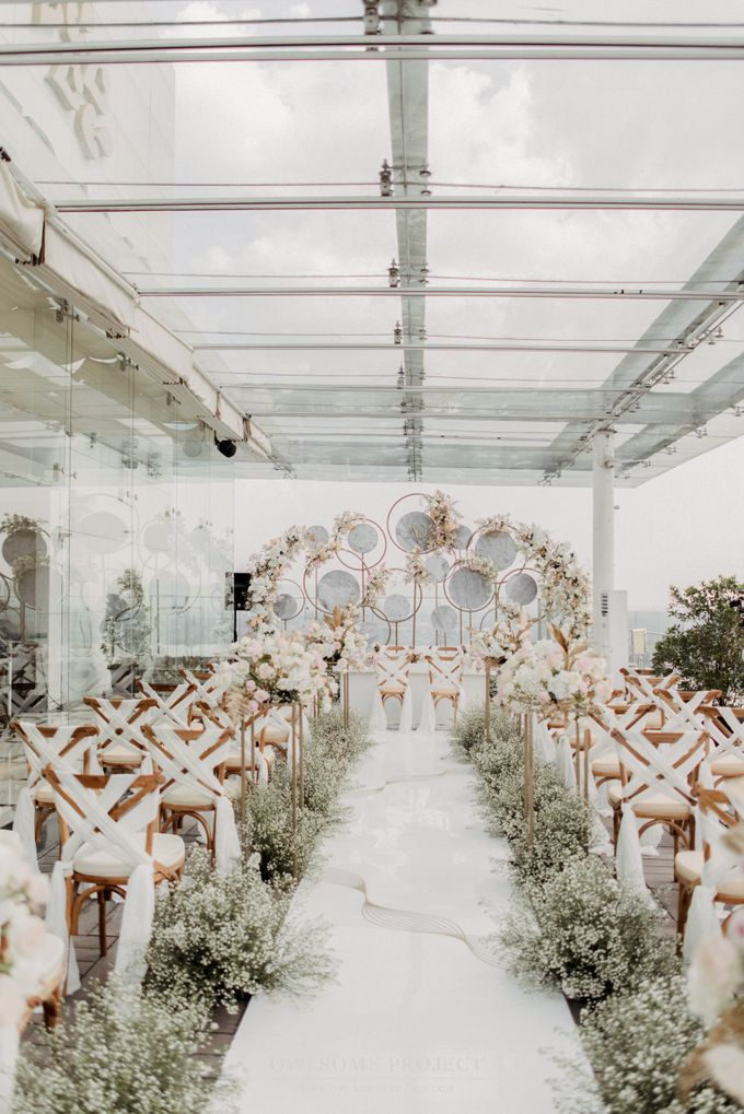 The Wedding of Aya and Dimas by Elior Design - 014