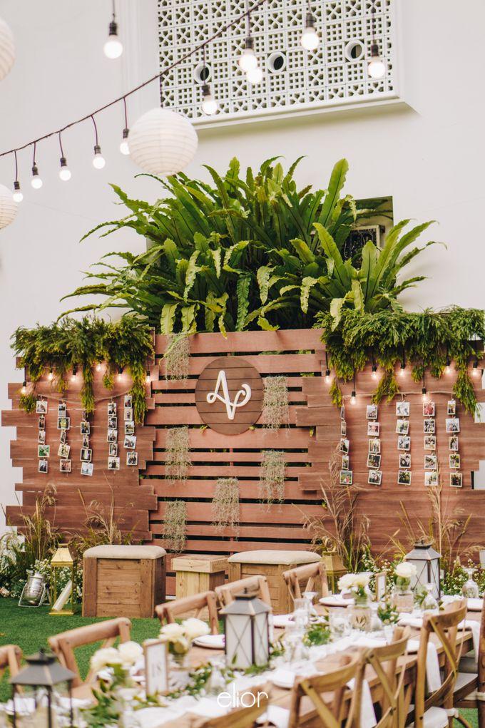 The Wedding of Adrian & Viola by Elior Design - 011