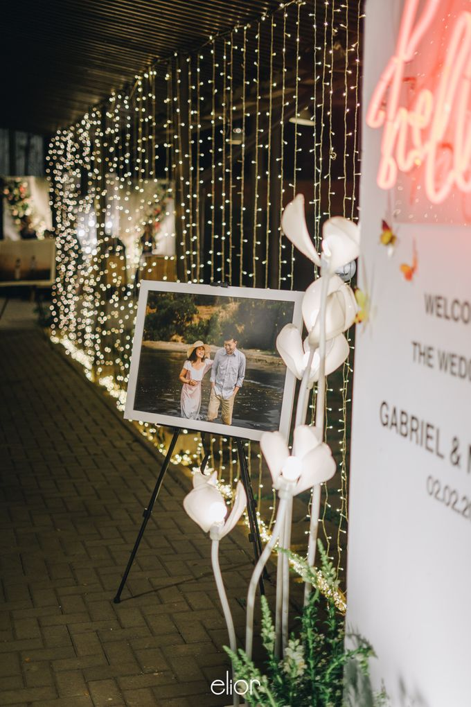 The Wedding of Monique & Gabriel by Elior Design - 006