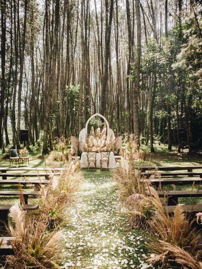 The Wedding of Nysha and Fariz by Elior Design - 033