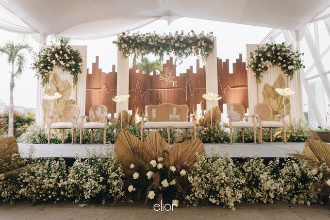The Wedding of Steven & Evelyn by Elior Design - 016