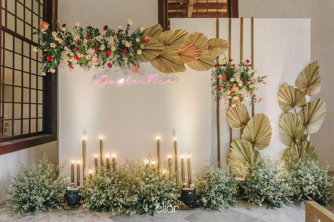 The Wedding of Fira & Jordan by Elior Design - 030