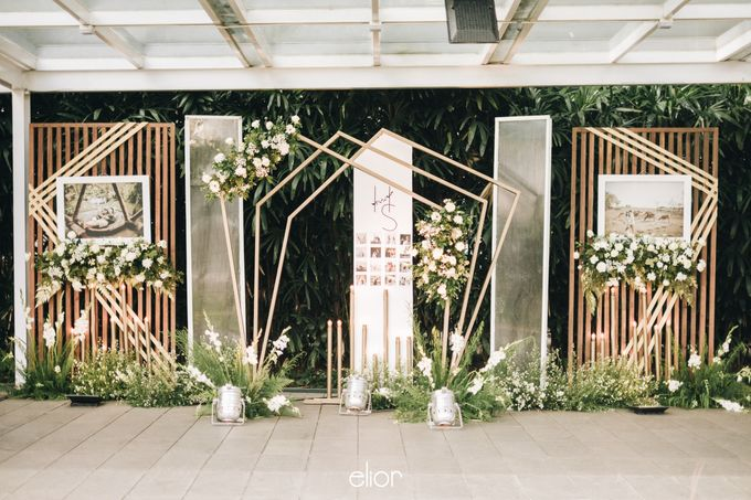 The Wedding of Henry and Stefanie by Elior Design - 009
