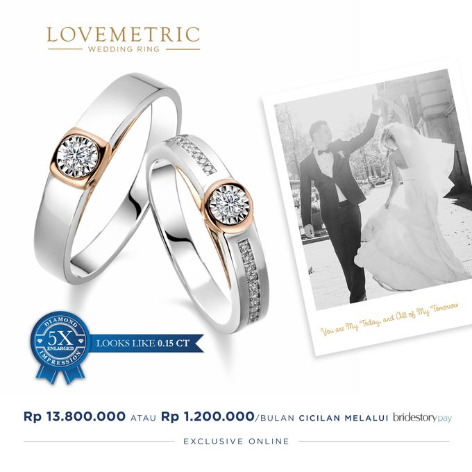 Wedding Ring Lovemetric Series by Adelle Jewellery - 005