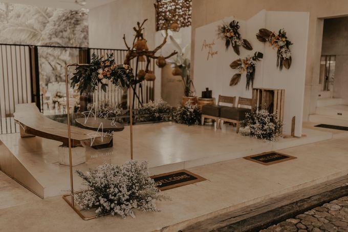 Aisyah & Aziz Wedding at Azila Villa by AKSA Creative - 008