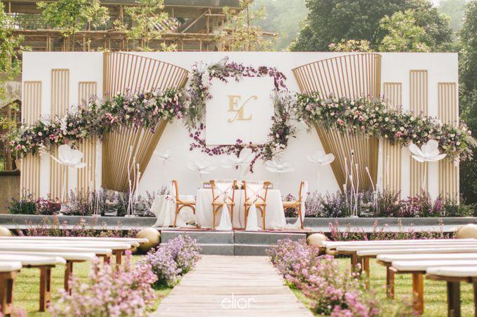 The Wedding of Eriely Lukman by Elior Design - 010