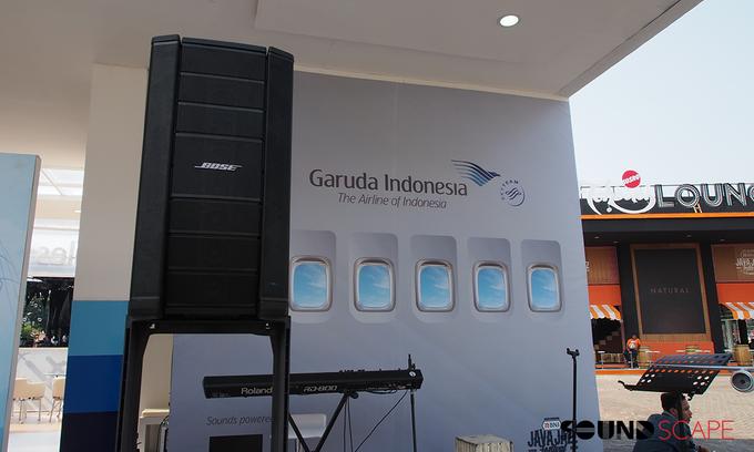 Garuda Indonesia - Java Jazz 2018 by SOUNDSCAPE - BOSE Rental Audio Professional - 006