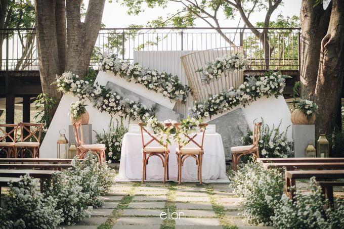 The Wedding of Muthia & Hary by Elior Design - 014