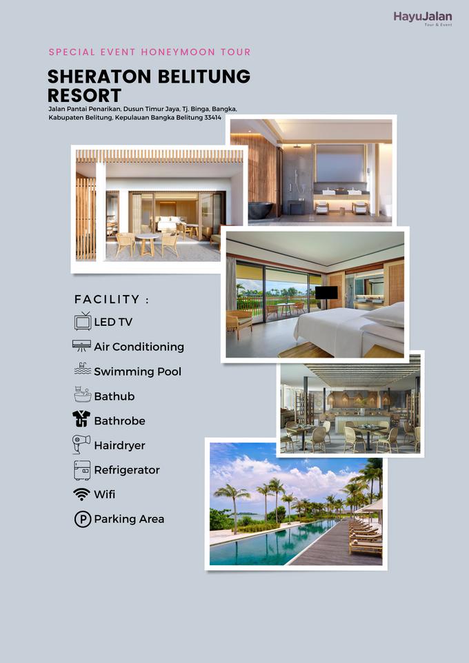 HONEYMOON PACKAGE BELITUNG 3D2N by Sheraton Belitung Resort - 001