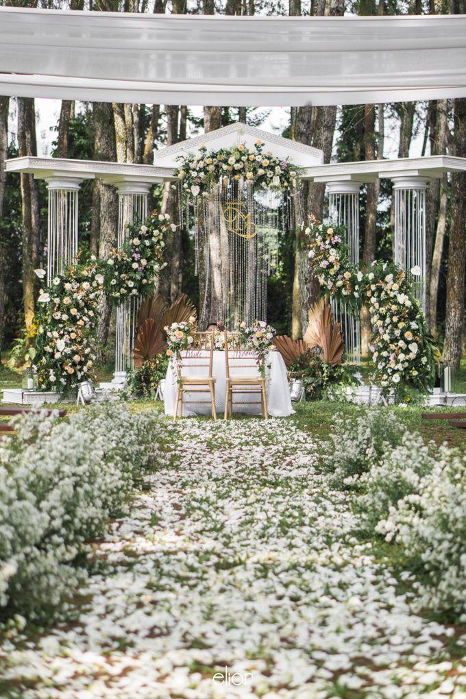 The Greek Goddess Themed Wedding of Edo and Marshella by Elior Design - 024