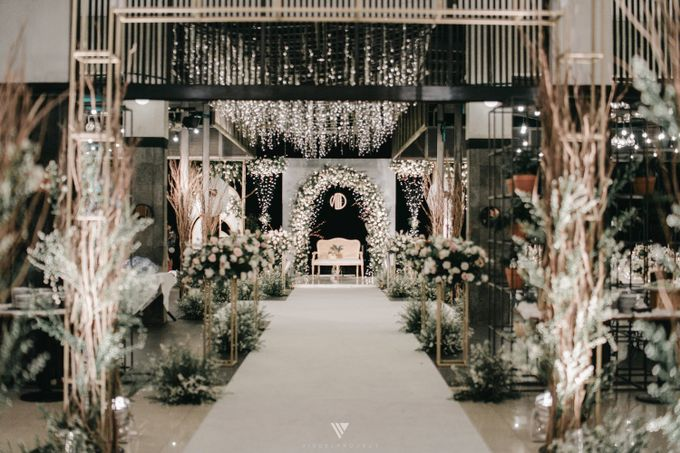 The Wedding of Novilia & Didik by Elior Design - 012