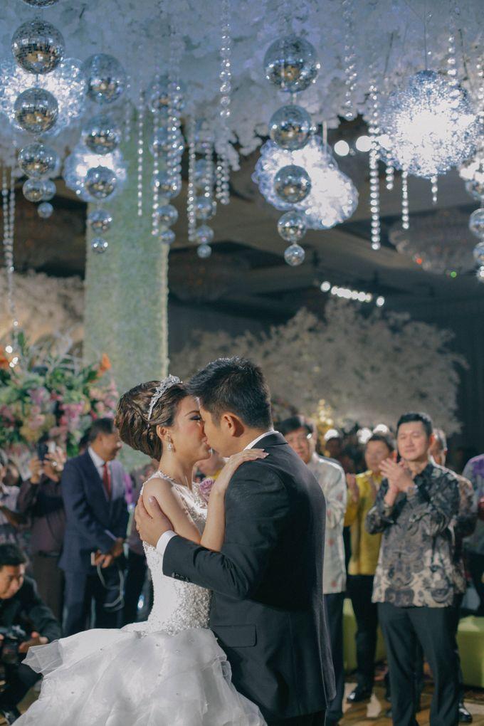 Maurice & Natasya Jakarta Wedding by Ian Vins - 035