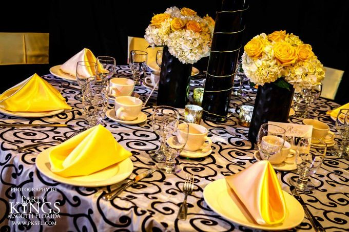 Sample Table Centerpiece Set up by Ocean Sky Hotel & Resort - 001