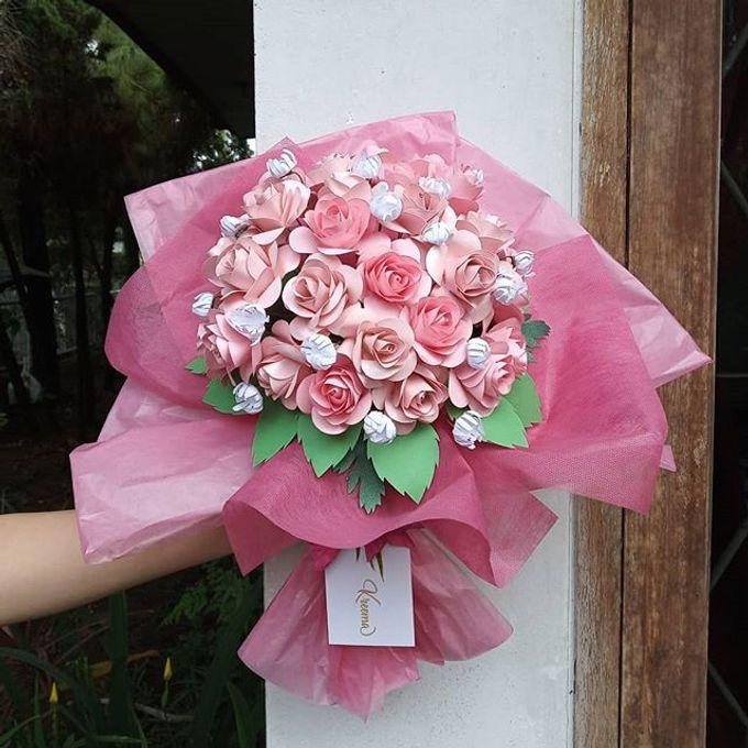 Paper Flower Hand Bouquet By Kreema Florist And Decoration