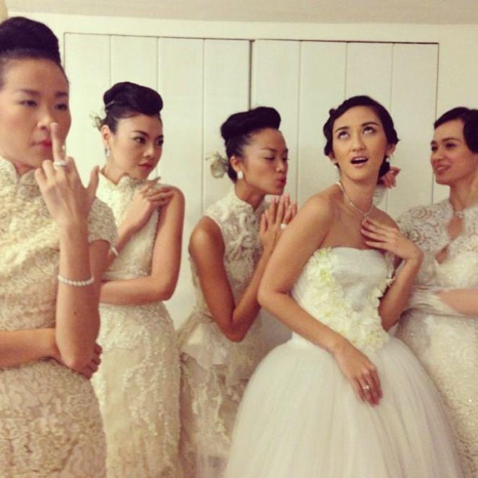 Priyo Oktaviano and Sapto DjojoKartiko Bride show by A Yan's Omintara Professional Make up Artist - 001